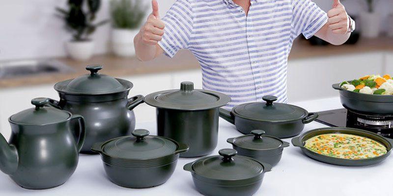 Giá thành nồi gốm sứ bếp từ thường cao hơn các sản phẩm thông thường